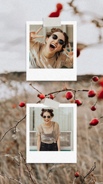 Trendy Instagram Design Creator With a Film Picture Frame 3518b-el1