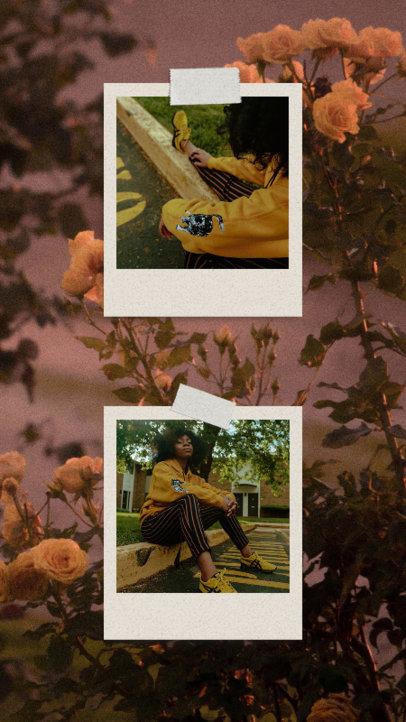 Instagram Story Design Creator With Instant Picture Frames 3518d-el1