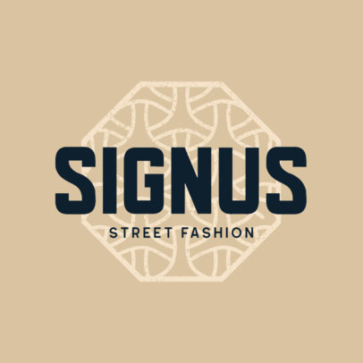 Logo Maker for Urban Apparel Stores Featuring an Abstract and Intricate Icon 4081e