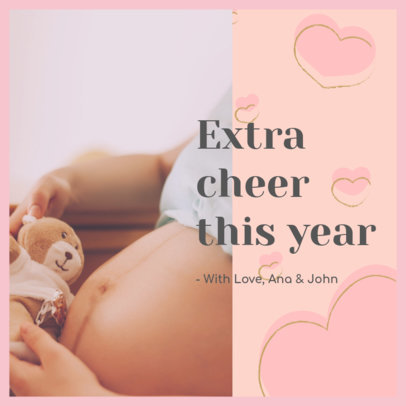 Cute Instagram Post Creator with a Maternity Theme 3402b