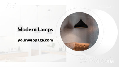Product Catalog Slideshow Video Maker for a Lamp Company 1561d 2835