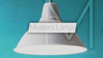 Intro Video Maker for a Home Decor Company 308a 2834