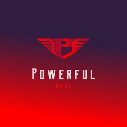Powerful Logo Generator with a Winged Monogram 4077c