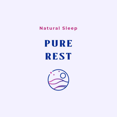 Online Logo Template for a Sleeping Aid Brand 4085f