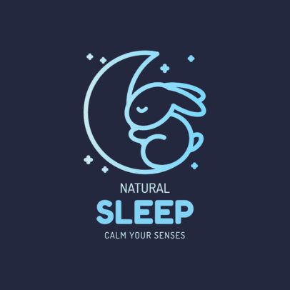 Wellness Logo Maker for Sleeping Aid Products 4086