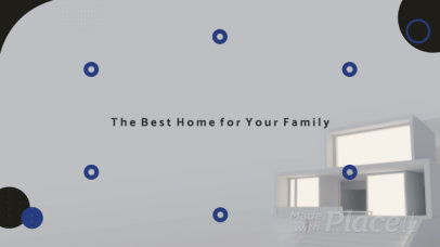 Modern Intro Video Template for a Real Estate Firm Ad 329a 2908