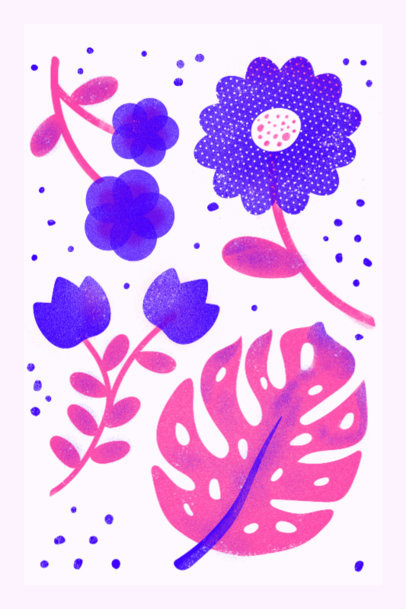 Art Print Maker Featuring Risograph-Styled Graphics 3460