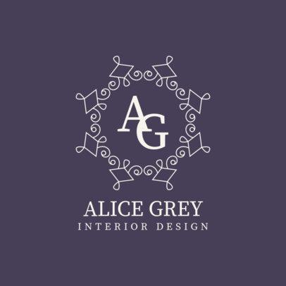 Logo Creator for an Interior Designer with an Elegant Monogram 3602a-el1