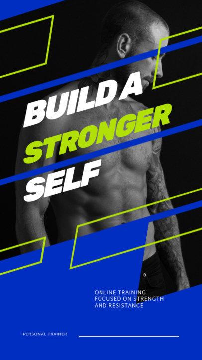 Instagram Story Generator for an Online Training Program 3606a-el1