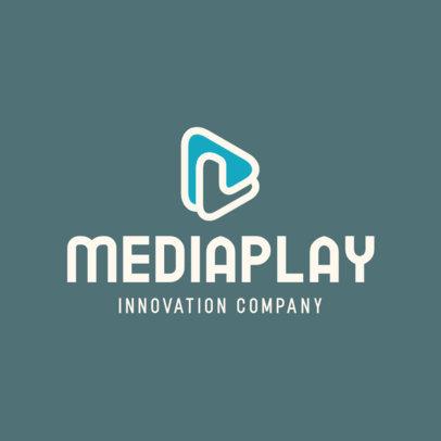 Online Logo Generator for Media Technology Companies 597a-el1