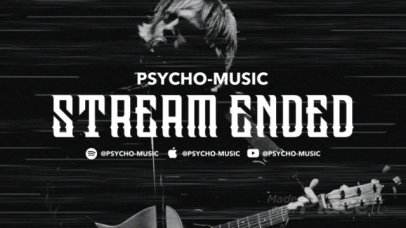Twitch Offline Screen Video Maker for Psychedelic Music Bands 2653