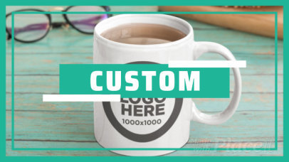 Intro Video Maker for a Custom Drinkware Store 1161a-2898