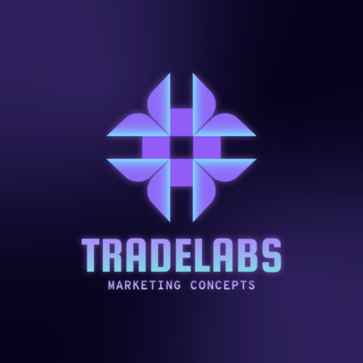 Modern Logo Template for a Marketing Concepts Lab 4111e