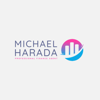 Logo Template for a Professional Finance Agent 4112b