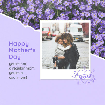 Instagram Post Generator Featuring a Mother's Day Theme and a Picture 3980d