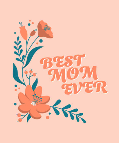 T-Shirt Design Generator for a Mother's Day Present 3477d