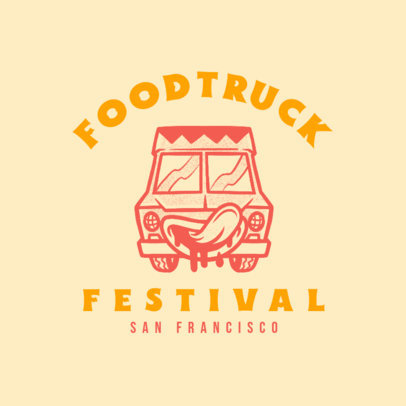 Simple Logo Generator for a Food Truck Festival 1213d-4138
