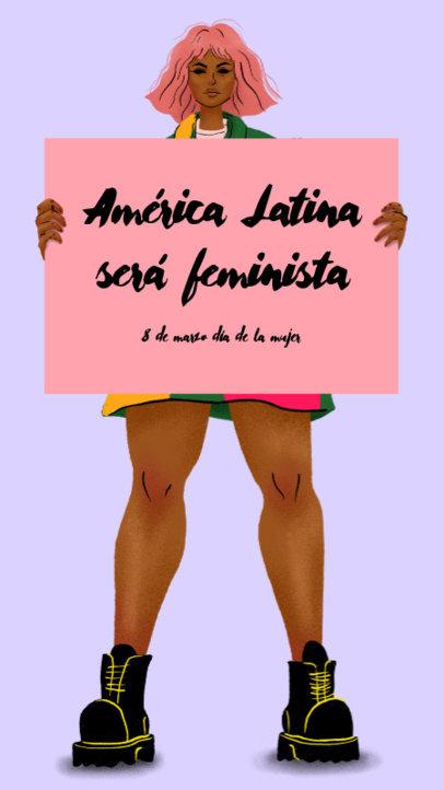 Instagram Story Celebrating Women's Day in Latin America 3488e