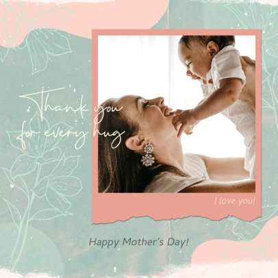 Instagram Post Maker with a Kind Quote for Mothers Day 3479g