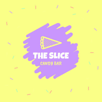 Colorful Logo Generator for a Candy Bar Brand 1389a-4136