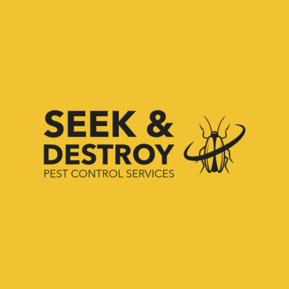 Online Logo Maker for an Extermination Services Company 1254d 4139