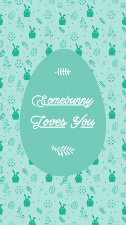 Quote Instagram Story Design Maker to Celebrate Easter 3685b-el1