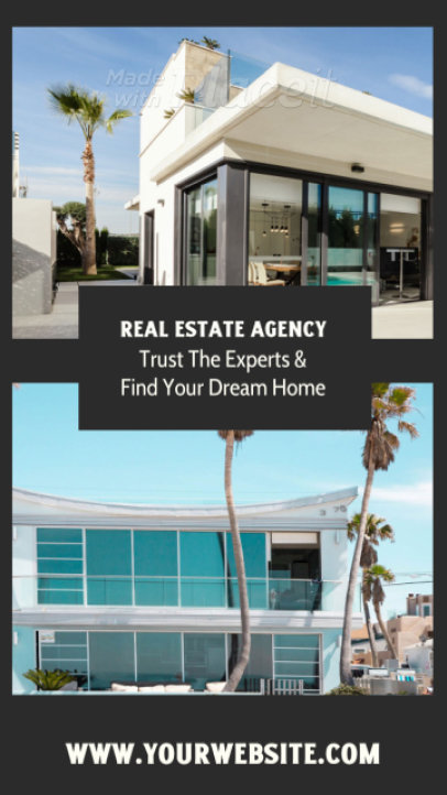 Instagram Story Video Generator to Promote a Real Estate Agency 1796a-2999
