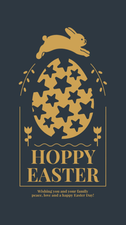 Simple Instagram Story Generator with an Easter-Themed Quote 3693d-el1