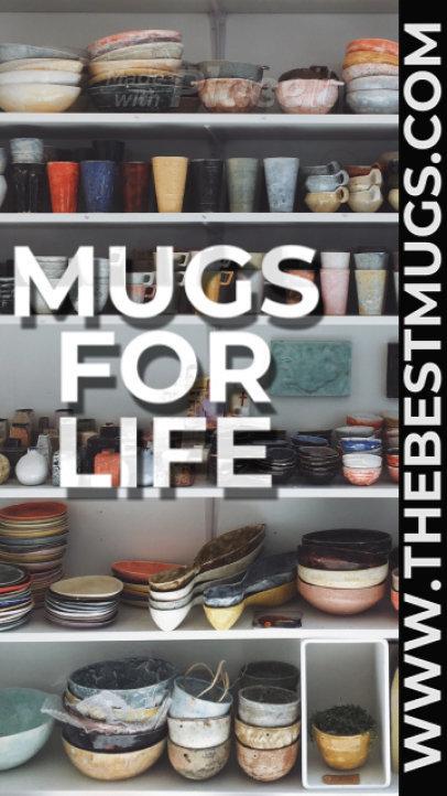 Instagram Story Video Maker for Coffee Mug Brands 2441a 3012-el1