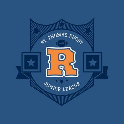 Sports Logo Generator - Capital Letter Badge a44