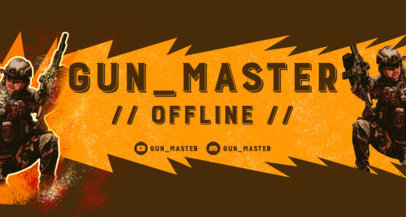 Twitch Banner Maker for an Offline Channel Status 3535e