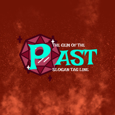 Typography Gaming Logo Creator Inspired by A Link to the Past 4207D