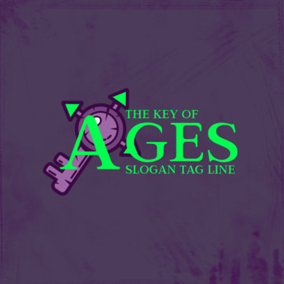 Gaming Logo Generator Inspired by Age of Calamity 4207E