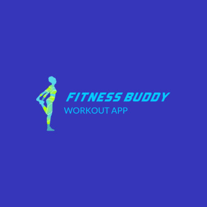 Cool Logo Maker for a Fitness App 4223