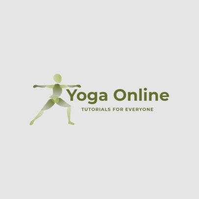Logo Generator for an Online Yoga Business 4221b