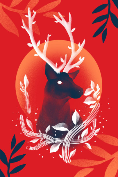 Art Print Maker Featuring Nature-Themed Illustrations 3564