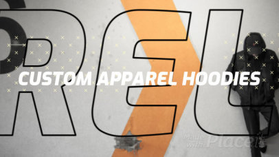 Facebook Cover Video Maker for a Customized Streetwear Brand Ad 1237e-3098