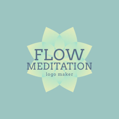 Logo Template for a Yoga Studio with Meditation Practice 1360e-4172