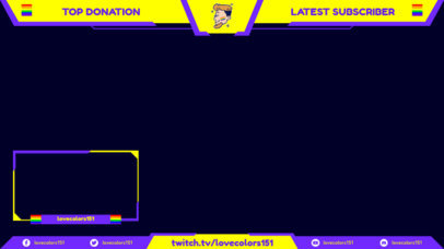 Twitch Overlay Maker Featuring LGBTQ Graphics 3588