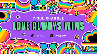 Fun Twitch Banner Generator with Rainbow-Colored Graphics 3586c