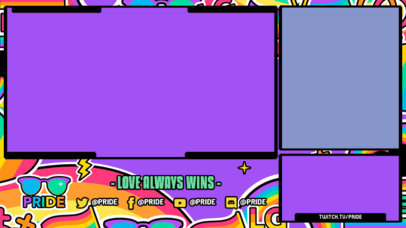 Fun Twitch Overlay Generator with Rainbow-Colored Graphics 3586c