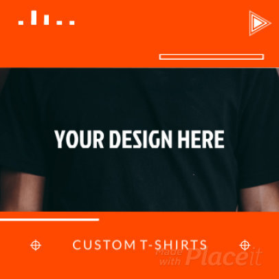 Instagram Video Generator for a POD Store Featuring Minimal Graphics 1534d - 3140