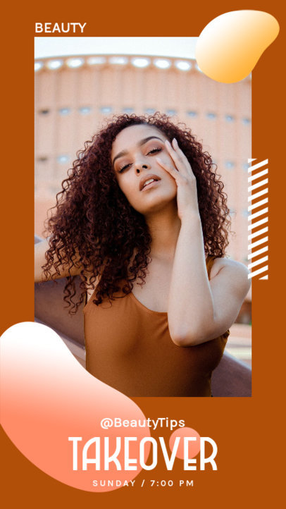 Instagram Story Design Generator for Influencers Featuring Trendy Style 3811c-el1