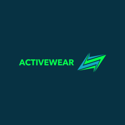 Dropshipping Logo Maker for an Activewear Brand 4251
