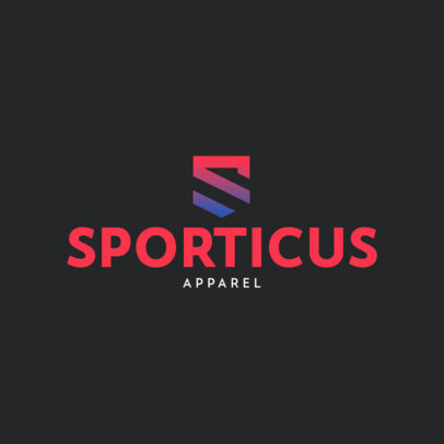 Dropshipping Logo Maker for an Activewear Clothing Brand 4249