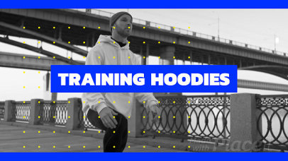 Intro Video Maker for Fitness Clothing Brands Featuring a Cinematic Style 285a 3130