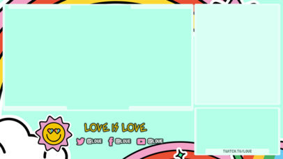 LGBTQ-Themed Twitch Overlay Creator Celebrating Love 3586m