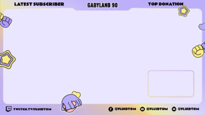 Pride-Themed Twitch Overlay Creator for a Non-Binary Gamer 3587h
