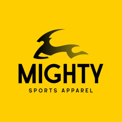 Minimal Logo Creator for Sports Clothing Brands 4249d
