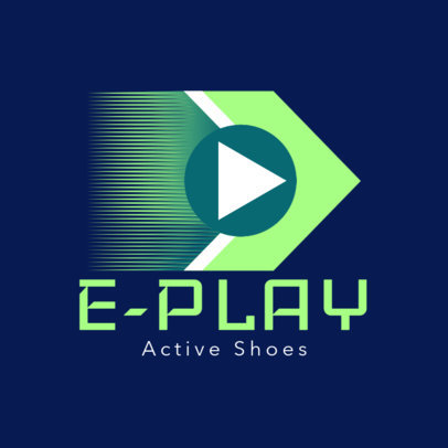 Online Logo Template for a Sports Sneakers Brand 4250a
